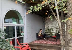 COVID Safe Outdoor Workspace