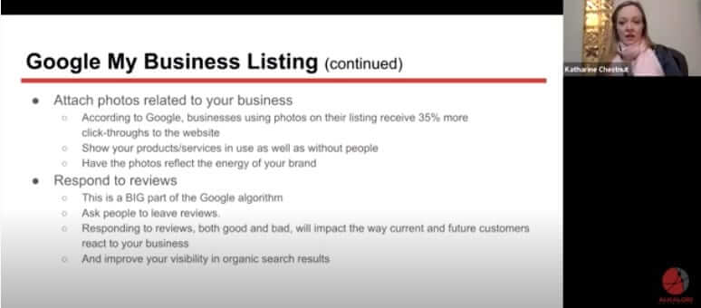 Better SEO with Google My Business